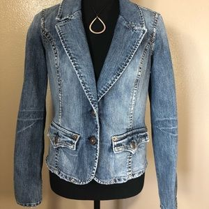 Silver jeans denim jacket Firm Price